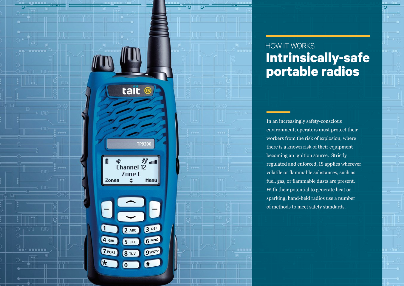 How Do Intrinsically Safe Portable Radios Work Tait