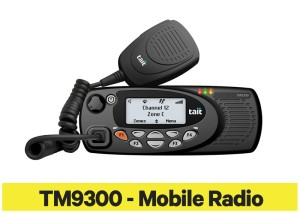 Tait TM9300 - Mobile Radio Product information